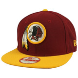 Bone New Era Aba Reta 950 Classic Nfl Washington Redskins