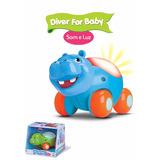 Carrinho Diver For Baby Luz E Som
