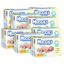 Caja De Huggies Ultraconfort Rn 8 Paquetes - 192 Pañales