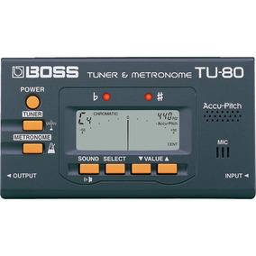 Afinador Metrônomo Boss Tu80 Violao Guitarra - Loja Kadu Som