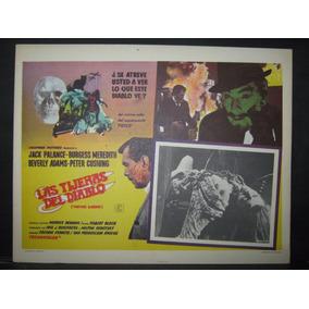 Las Tijeras Del Diablo / Torture Garden Cartel (lobby Card)