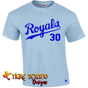 Playera Mlb Reales De Kansas City By Tigre Texano Designs