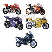 Super Kit Com 05 Miniaturas De Motos Escala 1:18 Maisto 12cm