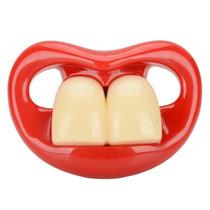 Chupeta Super Engraçada Dentão Mod 02