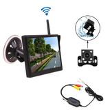 Camecho Backup Camera Inalámbrico Monitor De Color De 5 P