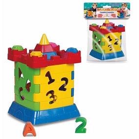 Castelinho Interativo - Brinquedo Pedagógico Didático