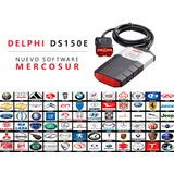 Scanner Automotriz Multimarca Delphi Software Mercosur !