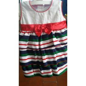 Vestido Para Niña De Modas Yanina Talla 3-6 Y Talla 6-9 Mese