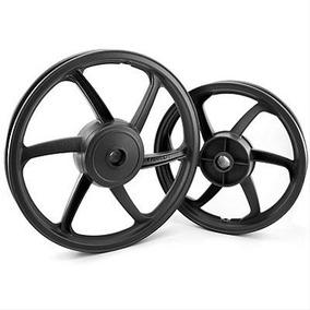 Roda Esportiva Preta (modelo Sport Mix) Titan 150 (tambor)