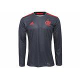 759fa9ae6e Camisa Flamengo Manga Longa - Camisas de Futebol no Mercado Livre Brasil