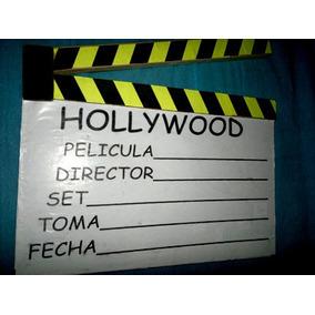 Claquetas Tamaño Infantil Luces Camara Accion Cine