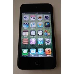 Ipod Touch 8gb 4 Geração Preto Mp3 Usado ( Parcelado ) Etd75
