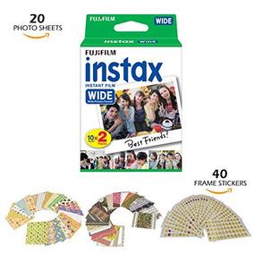 Fujifilm Instax Wide Instant 20 Film For Fuji Instax Wide 21
