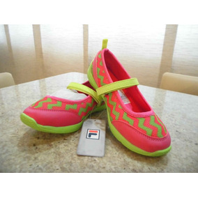 Zapatos Deportivos Fila Para Niñas Original Nuevos