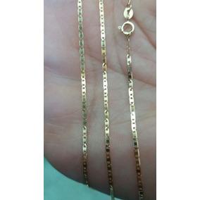 Corrente Cordão Masculino Ouro 18k Piastrine 60cm