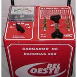 Cargador Arrancador De Bateria Soldadora Industria Argentina