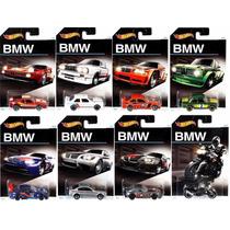 Hot Wheels Lote Bmw Coleção 2016 - 8 Carros Diecast - Mattel