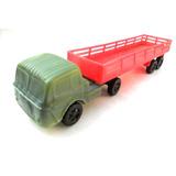 Brinquedo Em Plastico Bolha Caminhão Fnm Carreta 29 Cm Ay 11