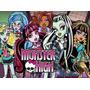 Painel Decorativo Festa Disney Monster High [3x1,7m] (mod2)