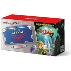 New Nintendo 2ds Xl Edição Zelda /pronta Entrega Dia24/10