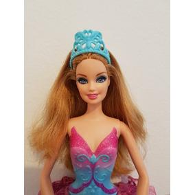 Boneca Barbie E As Sapatilhas Magicas Giselle