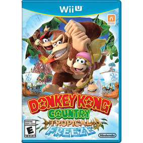 Nintendo Select Donkey Kong Tropical Freeze - Wii U Lacrado