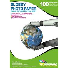 Papel Fotografico Glossy 10x15 Cm 230gr/500h Envio Gratis X2