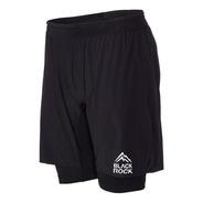 Short Con Calza Black Rock - Hombre - 2in1 Short - Running