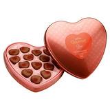 Coração Glamour Presente Romântico Chocolate Cacau Show