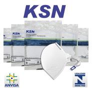 20 Máscaras Proteção Hospitalar N95 Pff2 Anvisa Inmetro