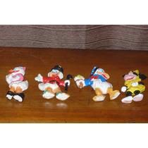 Lote Muñecos Antiguos Walt Disney Plastico Duro