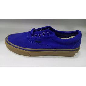 zapatillas vans hombre azules
