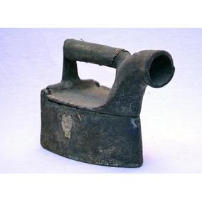 Antiguo Planchón Chimenea En Hierro Fundido Código 1052