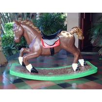 Cavalo Girafa Zebra De Gangorra Brinquedo Esculturas