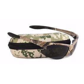 Óculos Tático Camuflado Acessório Sol Polarizado Uv