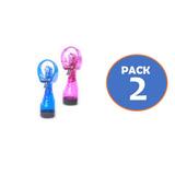 Pack 2 Ventilador Portatil Humidificador Agua Gocyexpress