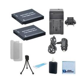 2 Baterías Dmw-bck7 Para Panasonic Lumix Dmc-sz02, Dmc-sz1,