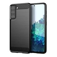 Funda Para Samsung S30 Ultra/s30plus Carbono+tpu Pack De 10