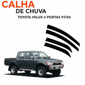 Jogo Calha De Chuva Defletora Toyota Hilux 97 98 00 04