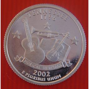 Moeda Americana - 2002 - Quarter Dollar - Prata Espelhada