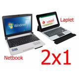 Netbook Intel. Windows 7 + Laplet Mini Lap Quad Core. Androi