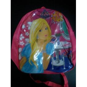 Bolso, Morral Para Niña De Princesas Disney, Barbie, Fresita