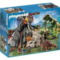 Playmobil 5230 Dinosaurios T Rex Con Volcan