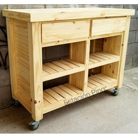 Mesa Alta Ruedas - Muebles de Cocina en Mercado Libre Argentina