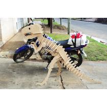 Dinosaurio Gigante Rex En 3d Mdf Para Armar
