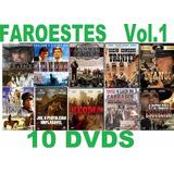 Coleção Faroeste Volume 1 Com 10 Dvds Novos E Lacrados