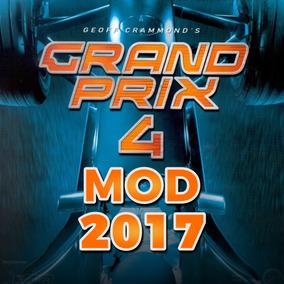 Grand Prix 4 (gp4) Game Simulador Pc Mod Temporada 2017 F1
