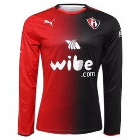 Jersey Origina Lzorros Atlas Local Puma Manga Larga 16-2017