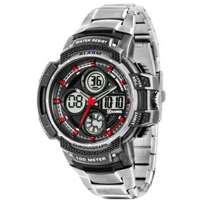 Relógio Xgames Masculino Anadigi Xmpsa025 Aço Oferta