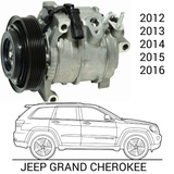 Compresor De Grand Cherokee 2012 2013 2014 2015 2016
